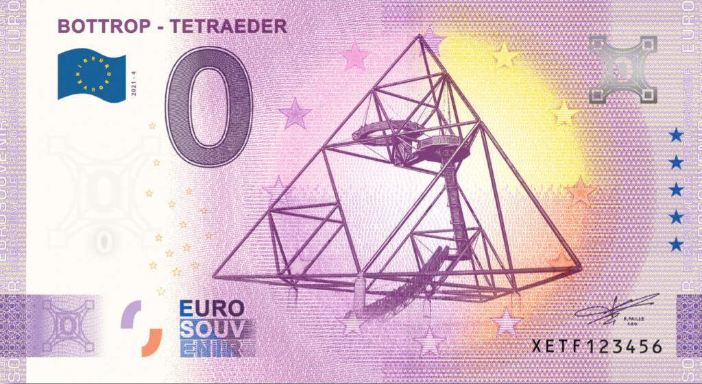Billets souvenirs 2021  Xetf410