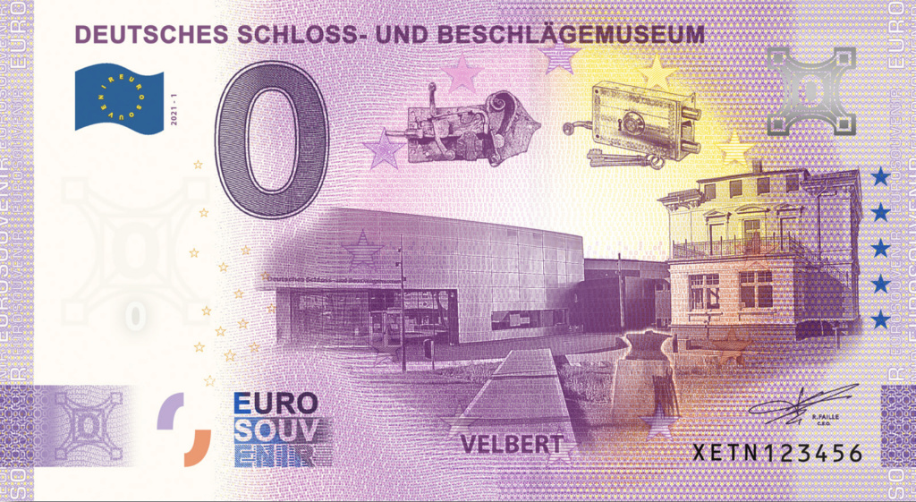 Billets souvenirs 2021  Xetn110