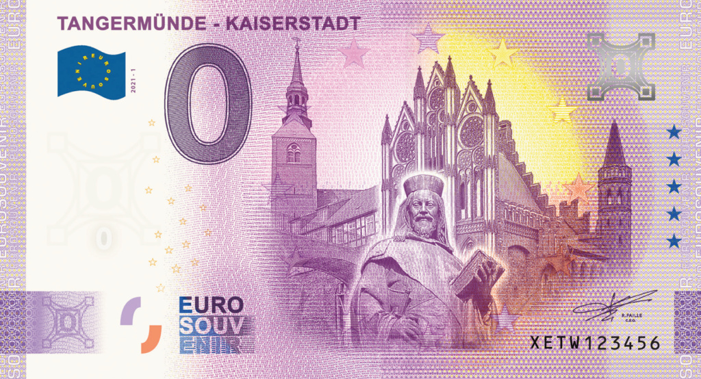Billets souvenirs 2021  Xetw110
