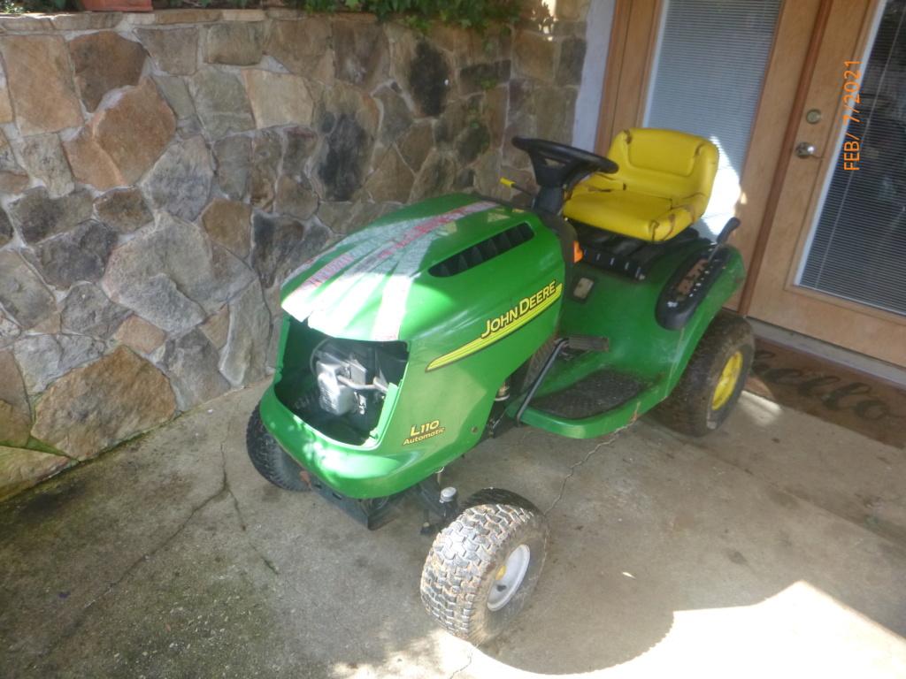 Murraymountain's Lawn Tractor Repairs 2021/2022 Season P1150923