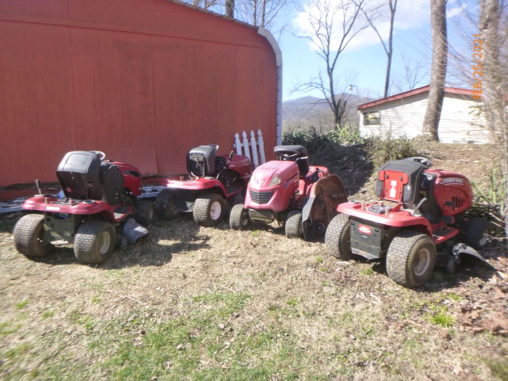 Murraymountain's Lawn Tractor Repairs 2021/2022 Season P1160012