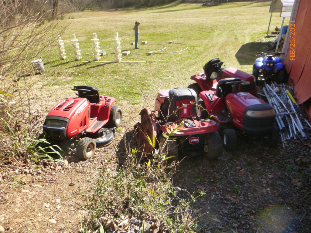 Murraymountain's Lawn Tractor Repairs 2021/2022 Season P1160013