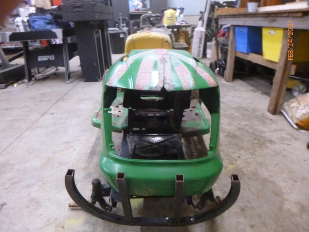 Murraymountain's Junkyard Deere Build (Richard) P1160020