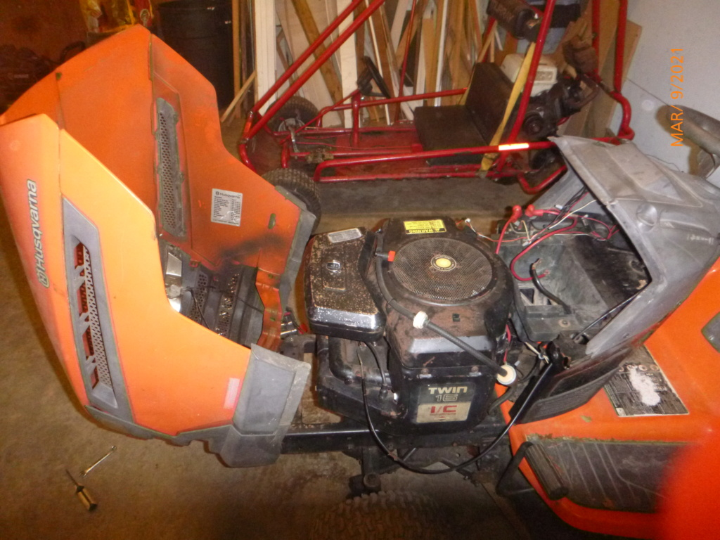 Murraymountain's Lawn Tractor Repairs 2021/2022 Season P1160039