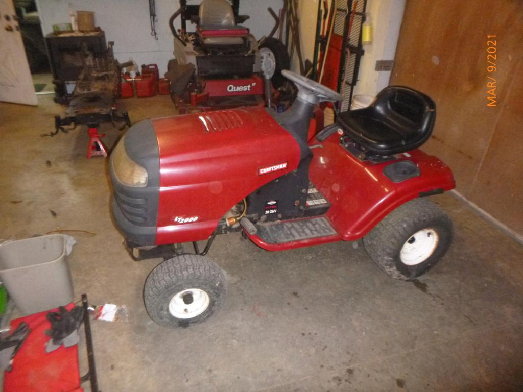 Murraymountain's Lawn Tractor Repairs 2021/2022 Season P1160040