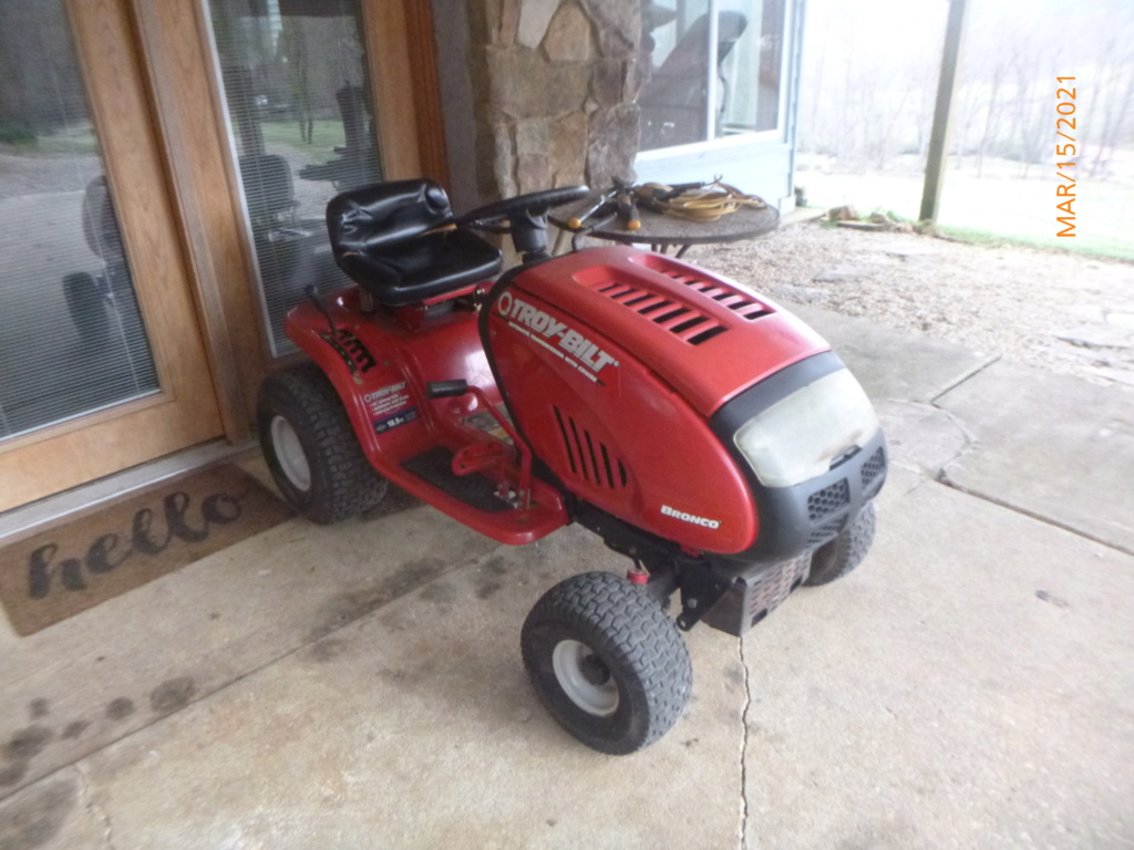 Murraymountain's Lawn Tractor Repairs 2021/2022 Season P1160046