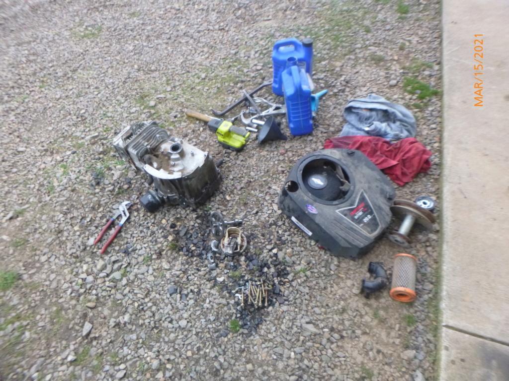 Murraymountain's Lawn Tractor Repairs 2021/2022 Season P1160050
