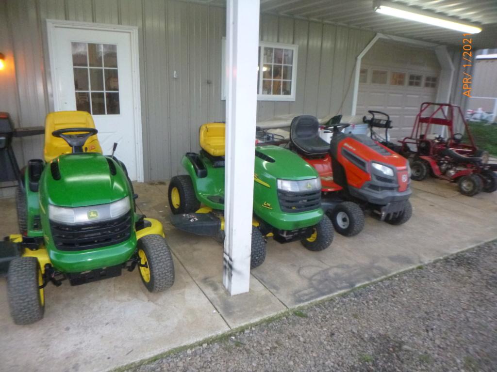 Murraymountain's Lawn Tractor Repairs 2021/2022 Season P1160122