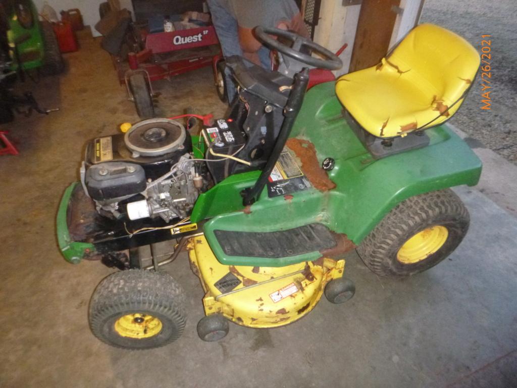 Murraymountain's Lawn Tractor Repairs 2021/2022 Season P1160416