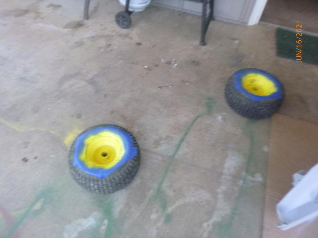 Murraymountain's Lawn Tractor Repairs 2021/2022 Season P1160448