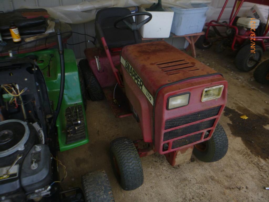 Murraymountain's Lawn Tractor Repairs 2021/2022 Season P1160512