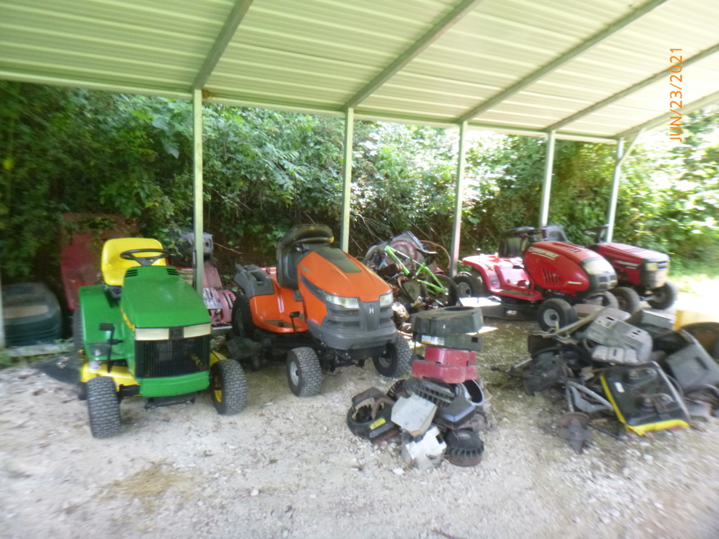 Murraymountain's Lawn Tractor Repairs 2021/2022 Season P1160516