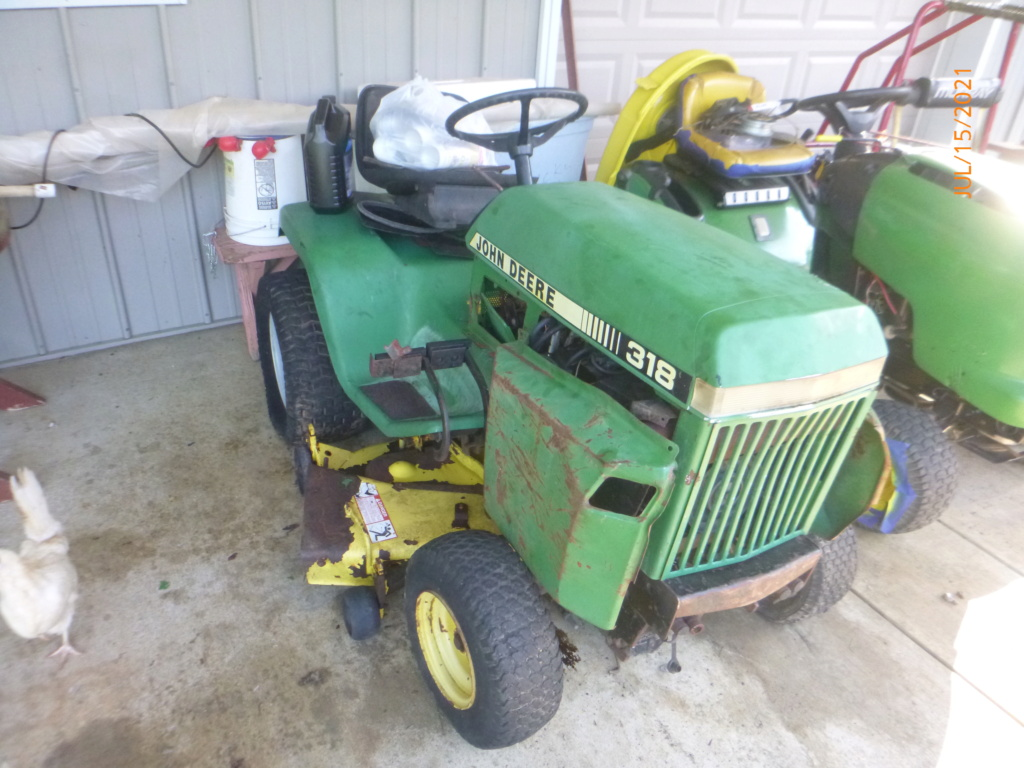 Murraymountain's Lawn Tractor Repairs 2021/2022 Season - Page 2 P1160523