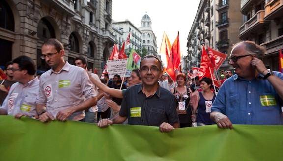 """11 de Mayo (Catalunya)   Manifestación """"Cap Intervenció:Desmilitarització / No Intervención:Desmilitarización""""  Manife11"""