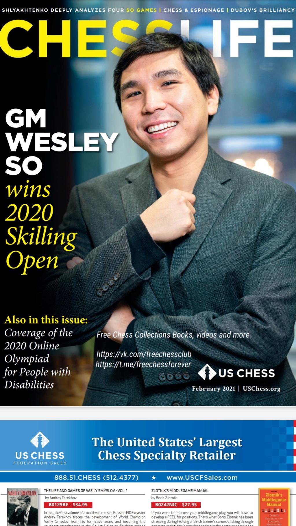 CHESS LIFE Magazines Screen20