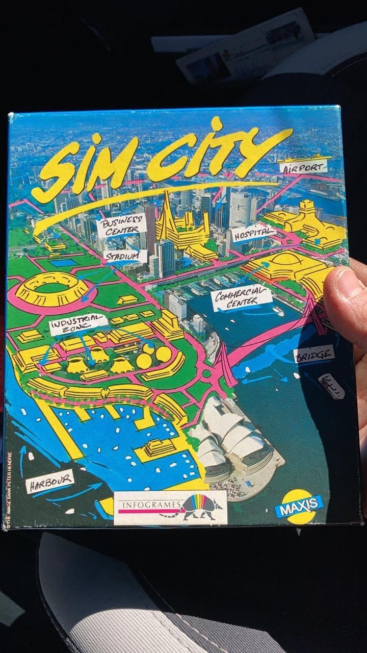 [RECH]notice jeu Sim city Atari st  75f0c410