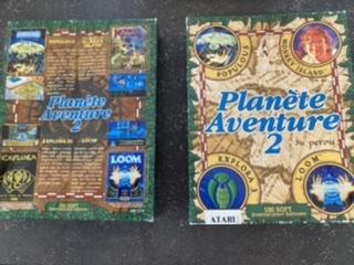 [RECH]la Notice planète de Planète aventure 2 ATARI ST F5cc9f10