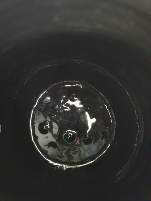 ID French studio pot; very unusual multi-coloured glaze - Vallauris? 16236711
