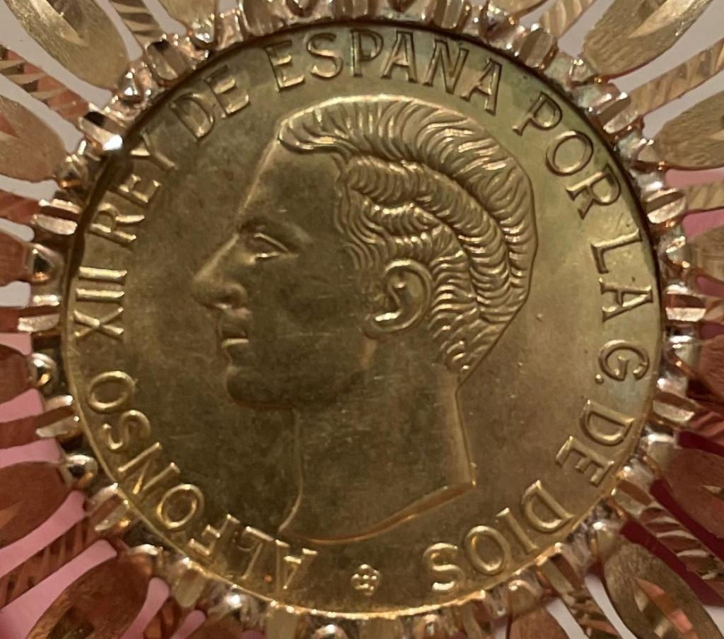 Moneda oro Alfonso XII sin fecha ni valor 8f833a10