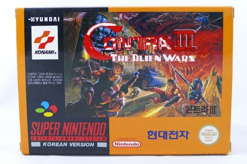 [Dossier] Master List SNES Korean (SUPER COMBOY) Contra10