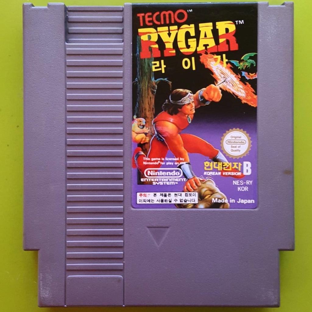 [Dossier] Master List NES Korean (COMBOY) Rygar10
