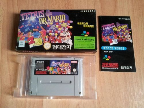 [Dossier] Master List SNES Korean (SUPER COMBOY) Tetris11