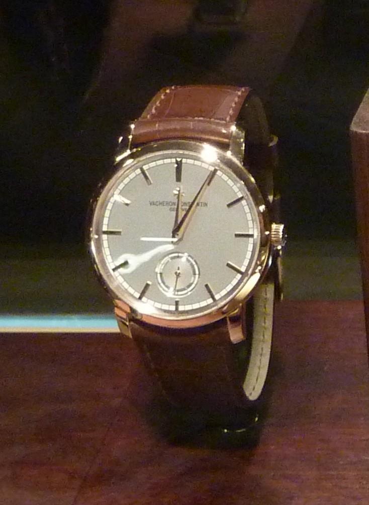 vacheron - COMPTE RENDU salon belles montres 2009 - Page 3 P1000517