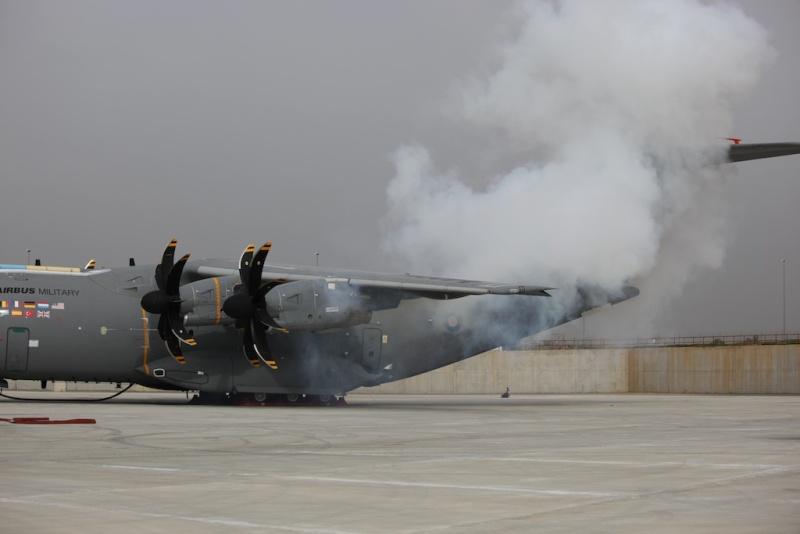 Sympath ce diporama de l'A400M en essais à Séville - Un renvoi de Denis Marlin Primer15