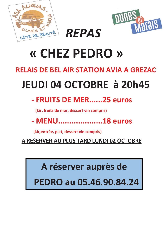 D&M 2018 - repas chez Pédro jeudi soir Repas_10