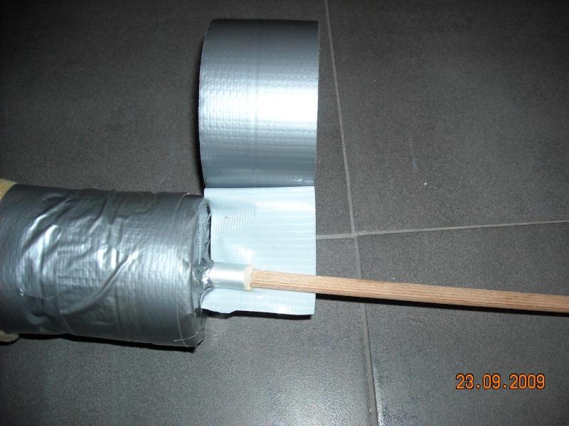 Fabrication de fleches pour GN Fleche36