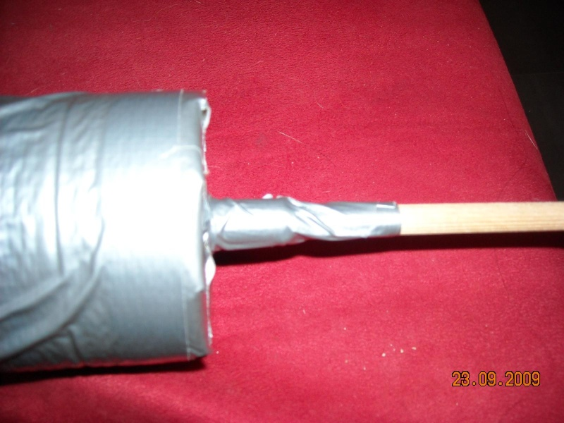 Fabrication de fleches pour GN Fleche37