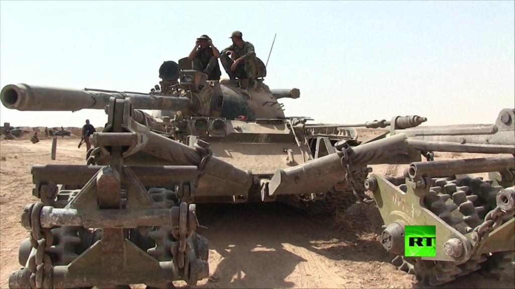 T 55 A avec KMT5 en Syrie Aaa11