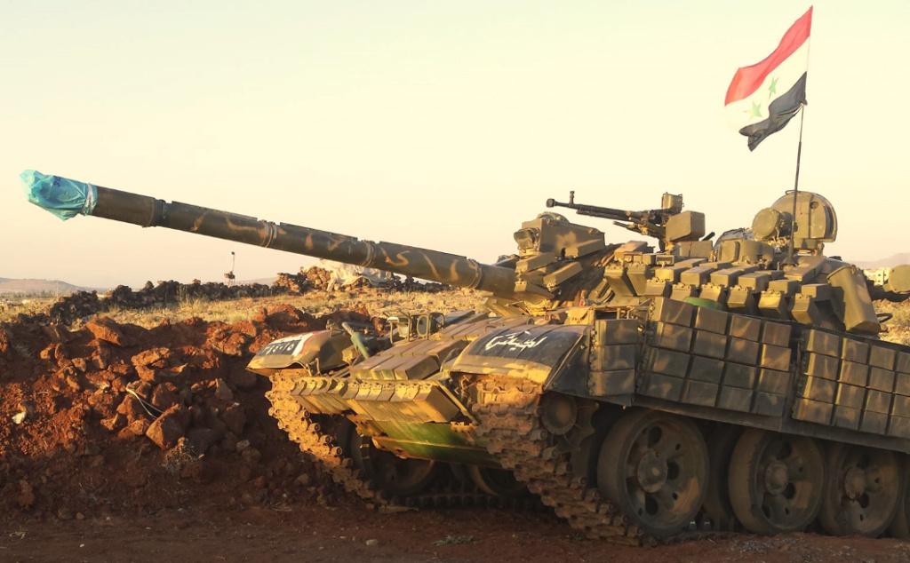 T 55 A avec KMT5 en Syrie Yjrdxm10
