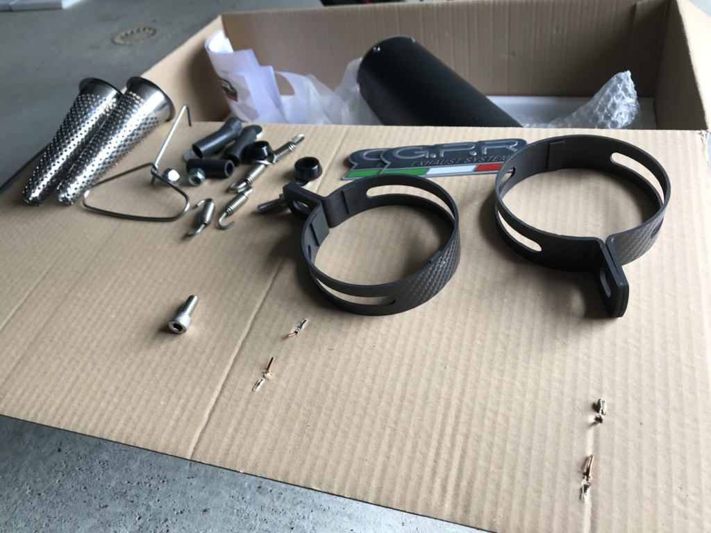 Silencieux GPR M3 en titane noir Joan Mir Limited edition 1b59e610