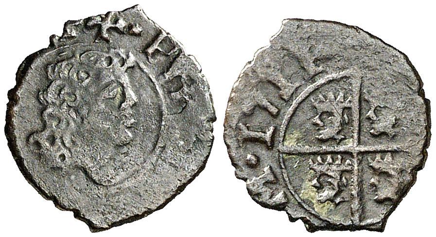 Dinero Felipe V 1711. Zaragoza 19998111