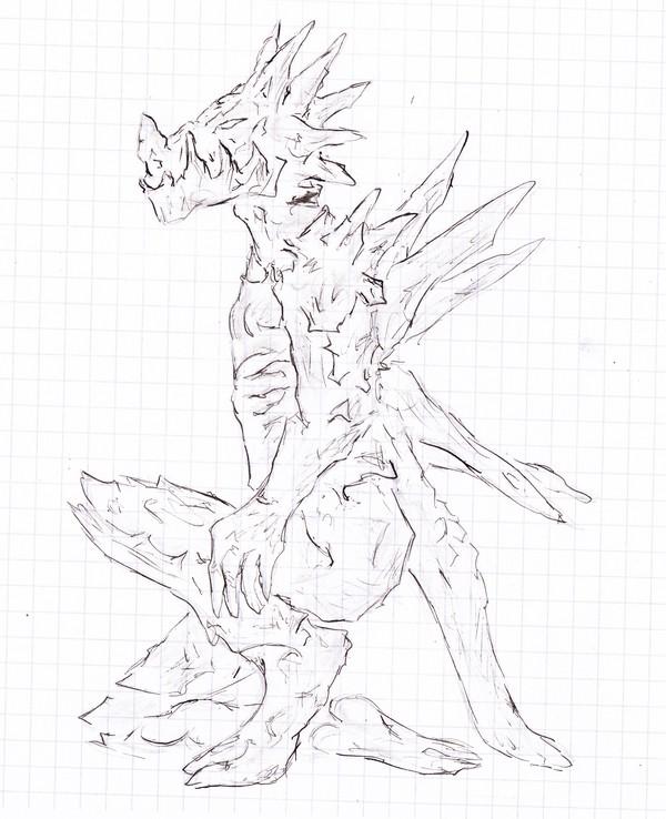 dessin d'Aryko - Page 6 Dragon13