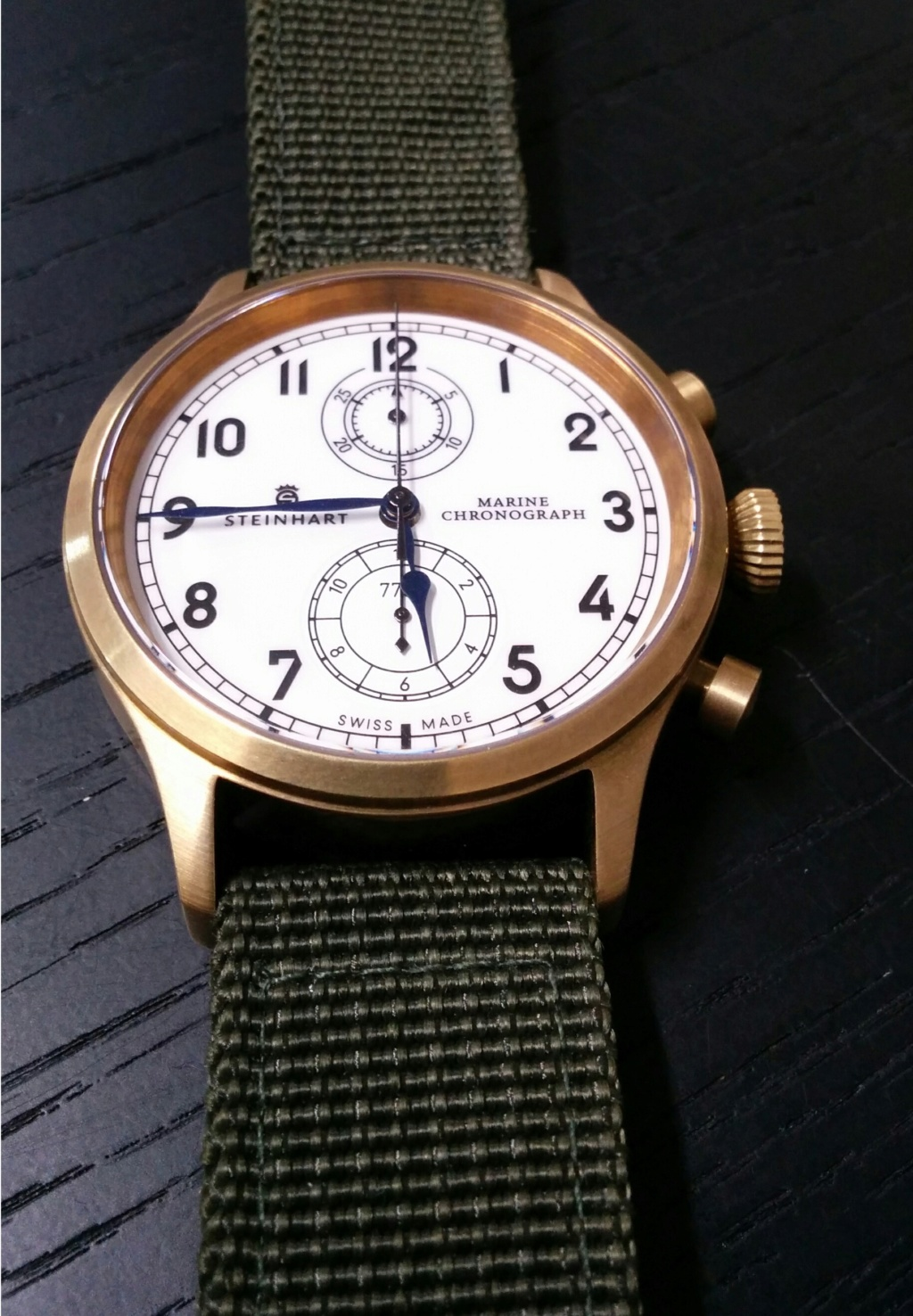 Nouvelle Steinhart Marine Chronograph bronze premium - Page 2 2019-027