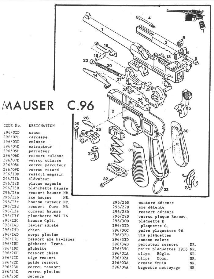 Mauser 96 C, question sur le chien  Pistol10