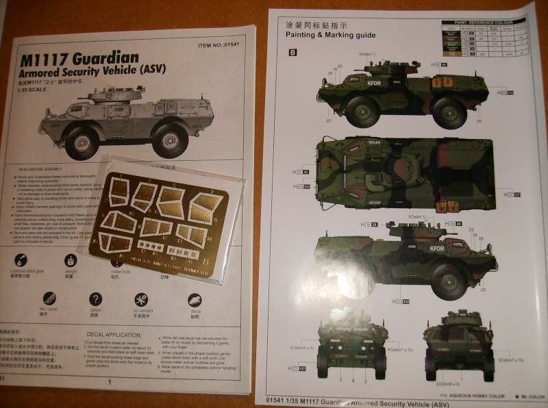M-1117 GUARDIAN 1/35 Trumpeter 00910