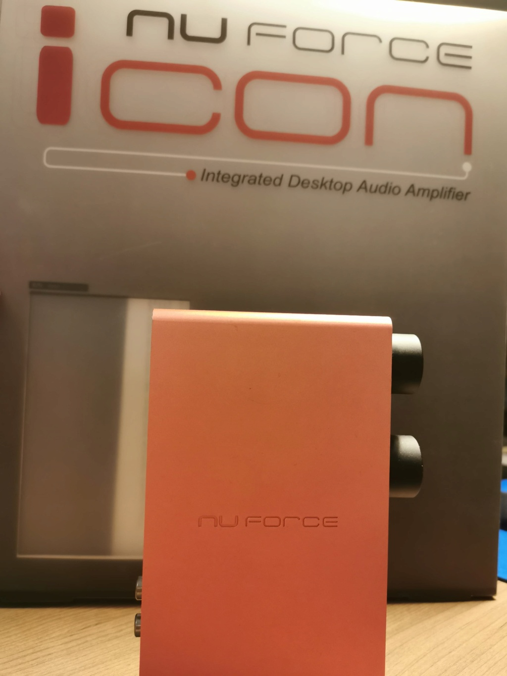 nuForce Icon Desktop Amp/Preamp + USB DAC (USED) Nf110