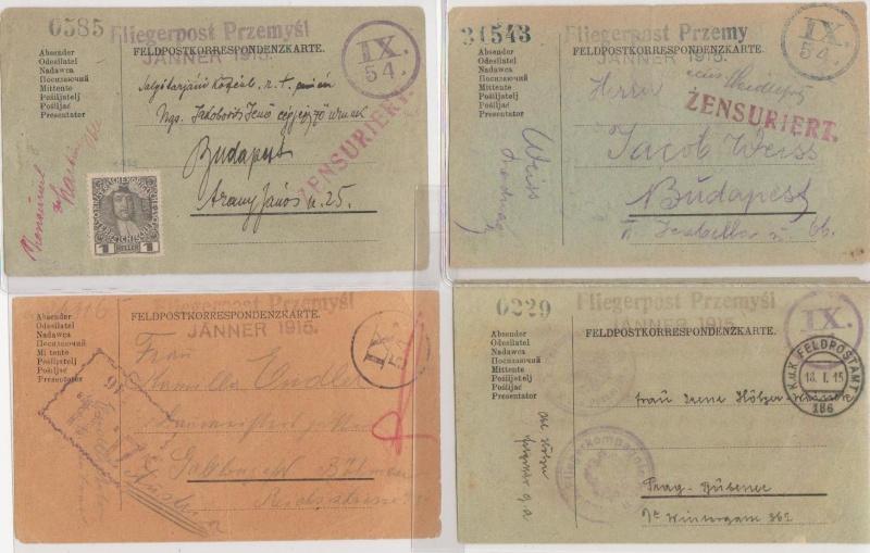 Fliegerpost Przemysl 1914-1918 Przemy17
