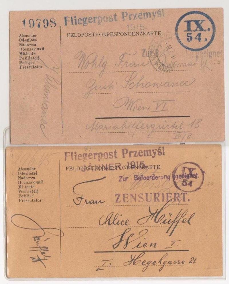 Fliegerpost Przemysl 1914-1918 Przemy22