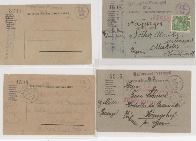 Fliegerpost Przemysl 1914-1918 Przemy24