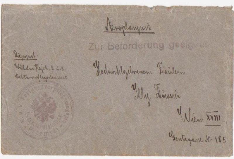 Fliegerpost Przemysl 1914-1918 Przemy26