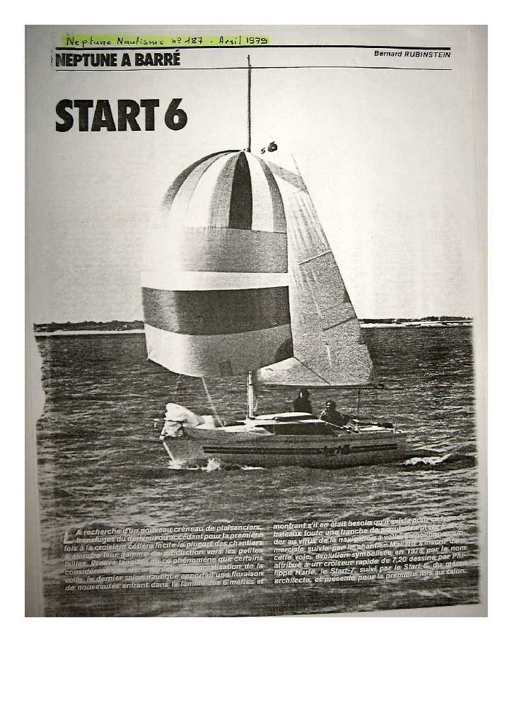 Article Neptune Nautisme Start610