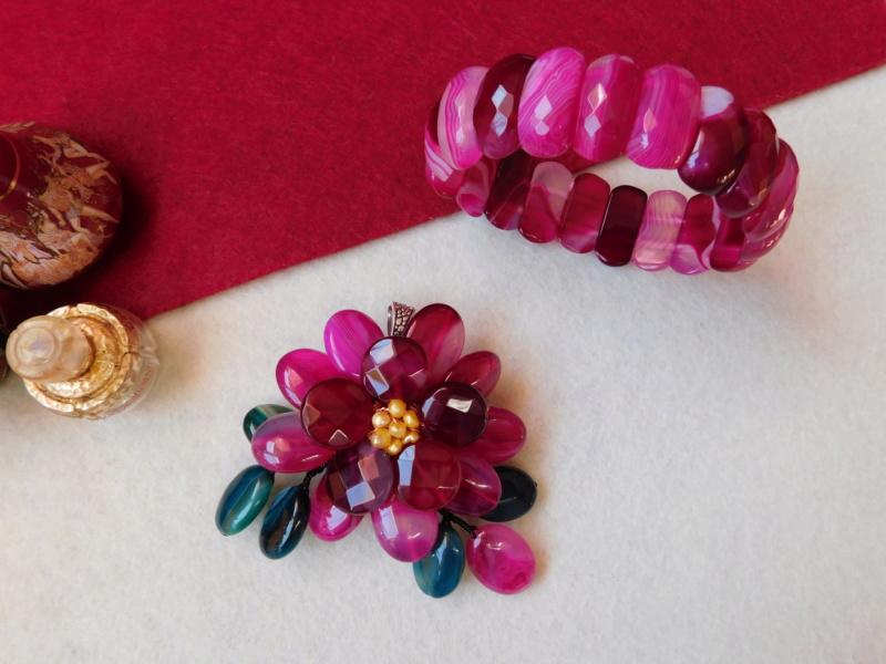 """""""Flori de piatră-Bijoux"""" albumul II-bijuterii artizanale marca Didina Sava - Pagina 3 00113"""