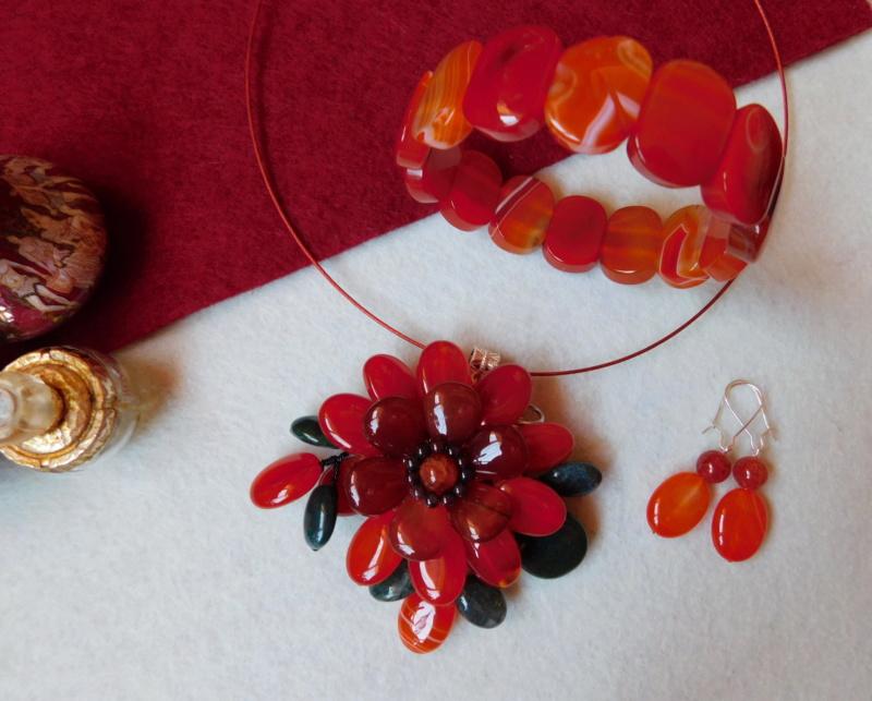 """""""Flori de piatră-Bijoux"""" albumul II-bijuterii artizanale marca Didina Sava - Pagina 3 00114"""