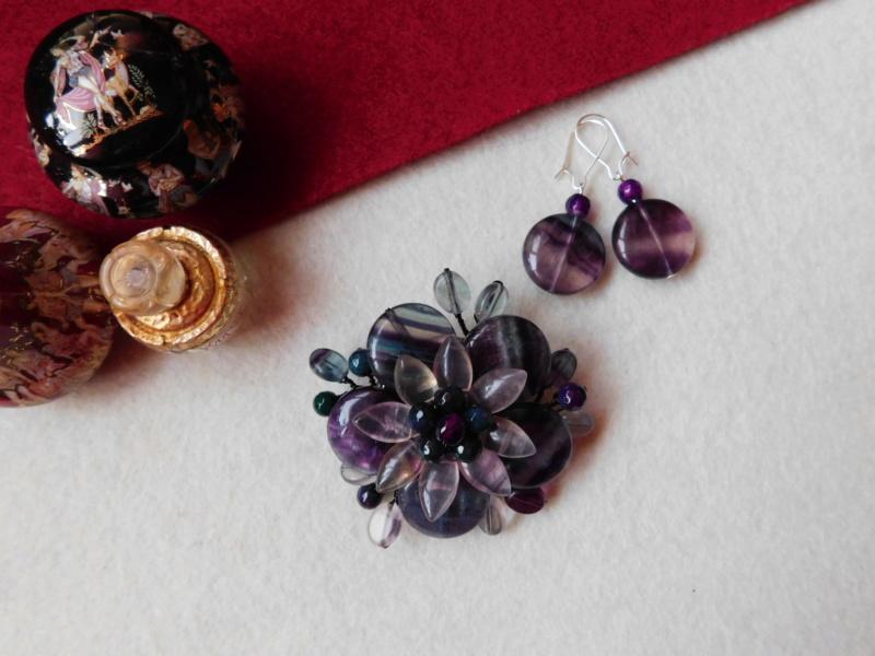 """""""Flori de piatră-Bijoux"""" albumul II-bijuterii artizanale marca Didina Sava - Pagina 3 00117"""