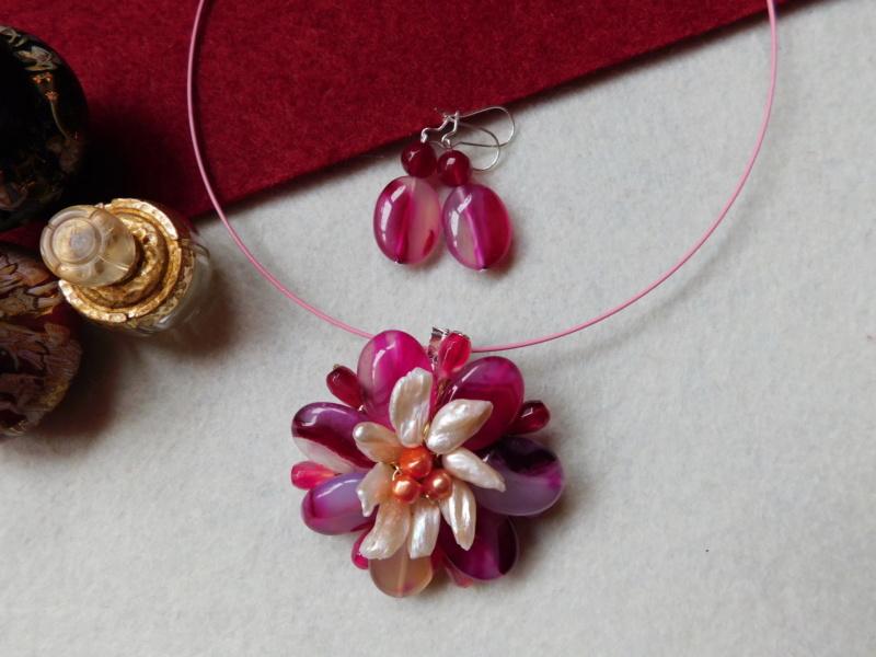 """""""Flori de piatră-Bijoux"""" albumul II-bijuterii artizanale marca Didina Sava - Pagina 3 00120"""