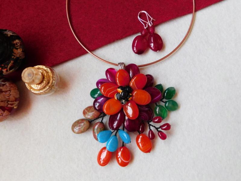 """""""Flori de piatră-Bijoux"""" albumul II-bijuterii artizanale marca Didina Sava - Pagina 5 00123"""